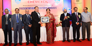 Cholayil wins CHEMEXCIL Award for Outstanding Export Performance in Cosmetics & Toiletries Panel