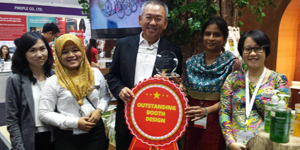 Cholayil wins Outstanding Booth Design Award 2015
